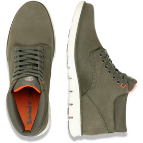 Timberland Bradstreet Chukka Leather Shoes Herren dark green nubuck